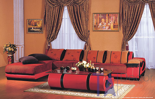 Sofa góc đóng sẵn TA005