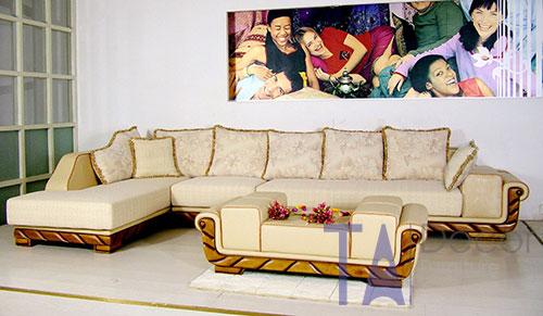 Sofa góc đóng sẵn TA009