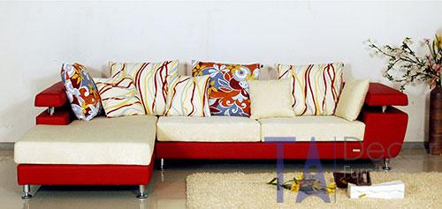 Sofa góc đóng sẵn TA012