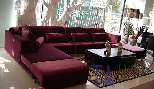 Sofa góc đóng mới theo yêu cầu TA006