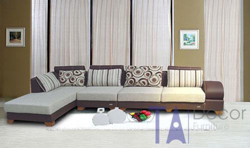 Sofa góc đóng mới theo yêu cầu TA007