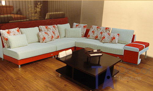 Sofa góc đóng mới theo yêu cầu TA008