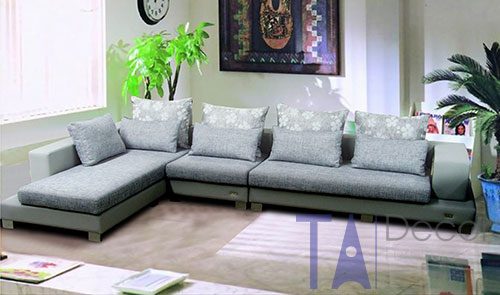 Sofa góc đóng mới theo yêu cầu TA009