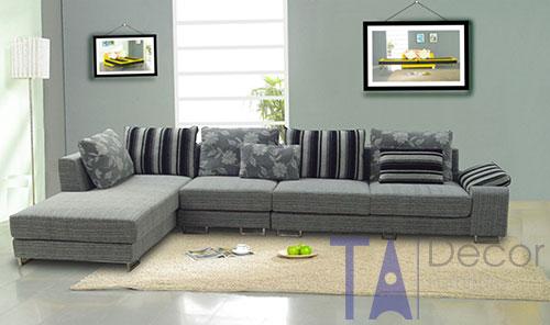 Sofa góc đóng mới theo yêu cầu TA011