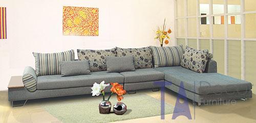 Sofa góc đóng mới theo yêu cầu TA012