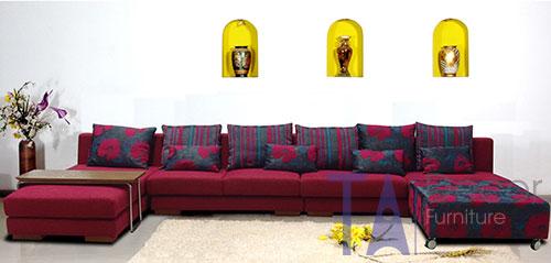 Sofa góc nhập khẩu TA006