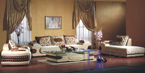 Sofa cổ điển đóng sẵn TA003