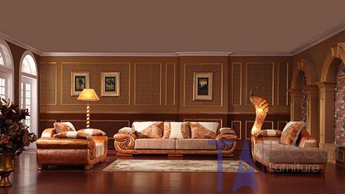 Sofa cổ điển đóng sẵn TA004