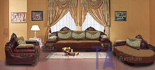 Sofa cổ điển đóng sẵn TA006