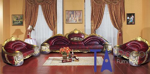 Sofa phòng khách đóng sẵn TA003