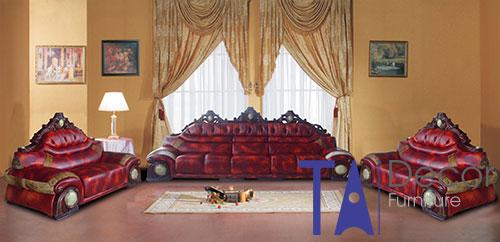 Sofa phòng khách đóng sẵn TA004