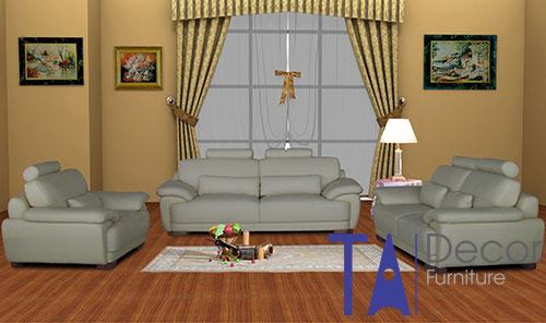 Sofa phòng khách đóng sẵn TA005