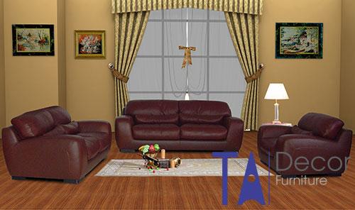 Sofa phòng khách đóng sẵn TA006