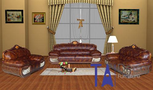 Sofa phòng khách đóng sẵn TA009
