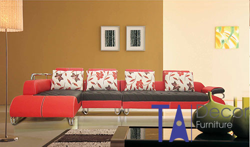 Sofa phòng khách đóng mới TA003