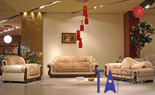 Sofa phòng khách đóng mới TA004