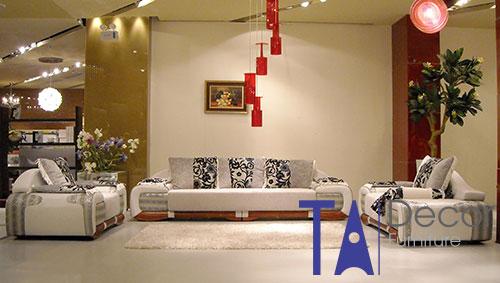 Sofa phòng khách đóng mới TA007