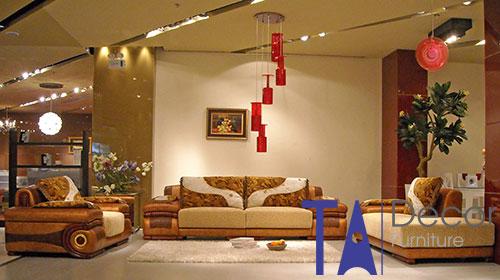 Sofa phòng khách đóng mới TA008