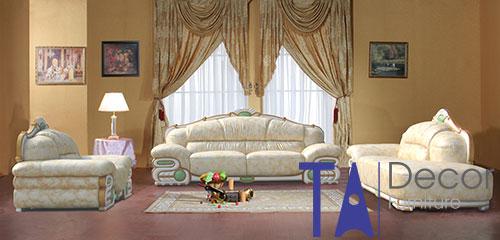 Sofa cổ điển đóng mới TA006
