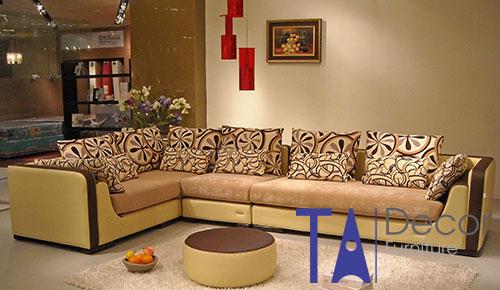 Sofa góc đóng mới theo yêu cầu TA016