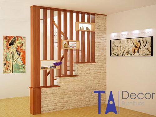 Vách ngăn gỗ TA002
