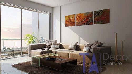 Sofa nhập khẩu phong cách hiện đại TA001
