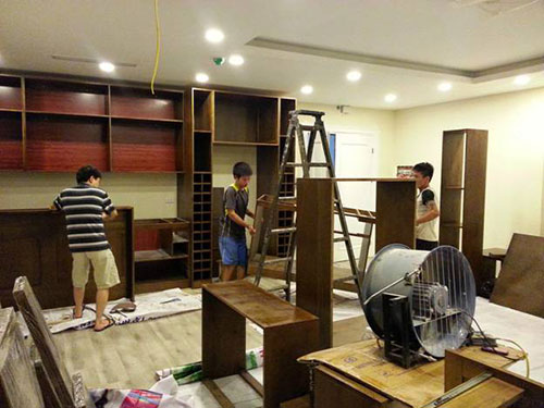 Sửa chữa đồ gỗ nội thất tại Hải Dương